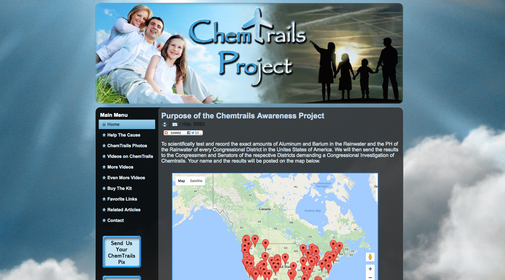 Chemtrails Project