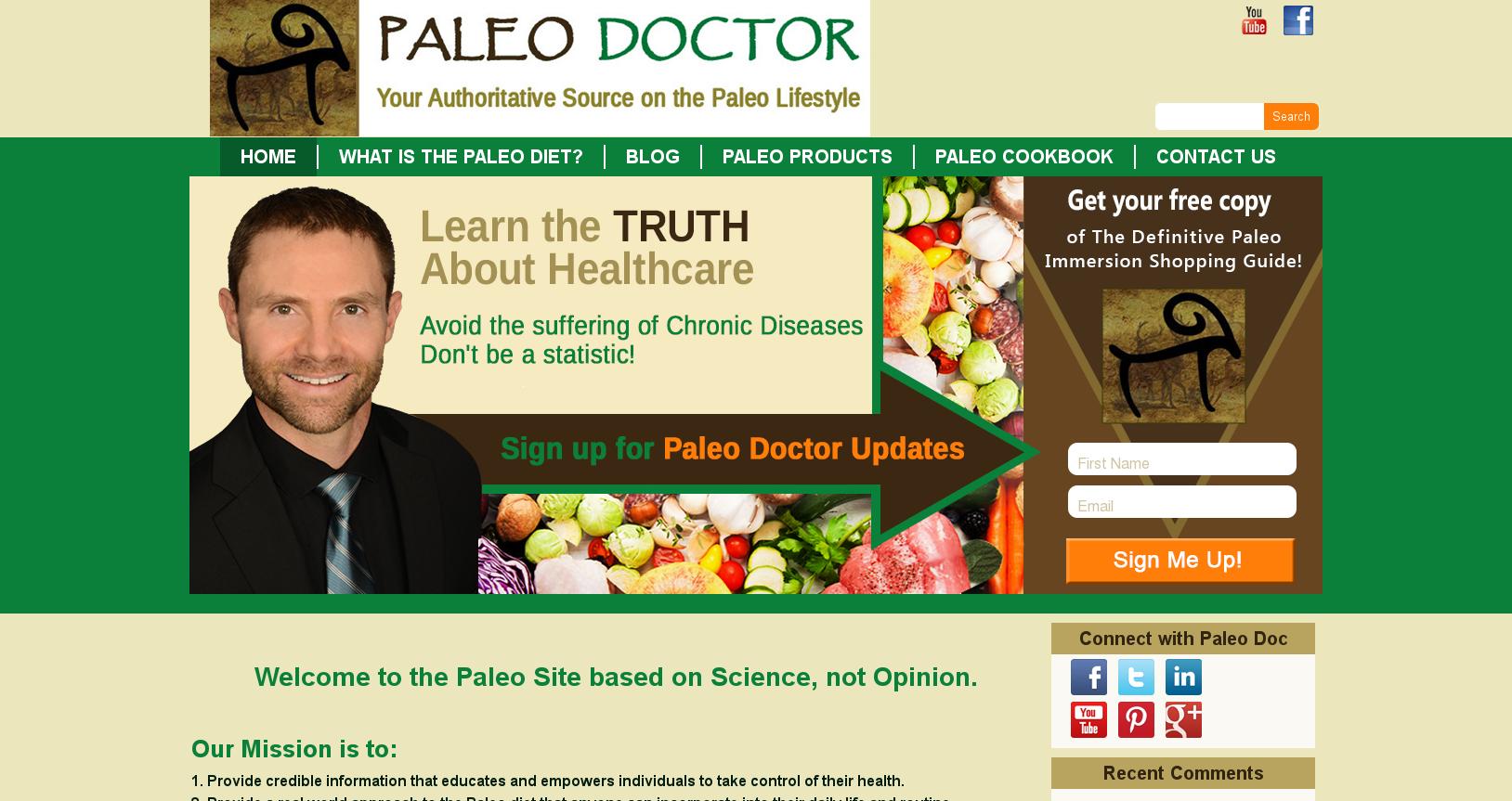 Paleo Lifestyle Doctor